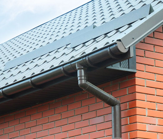 galvanized steel residential commercial gutters london ontario