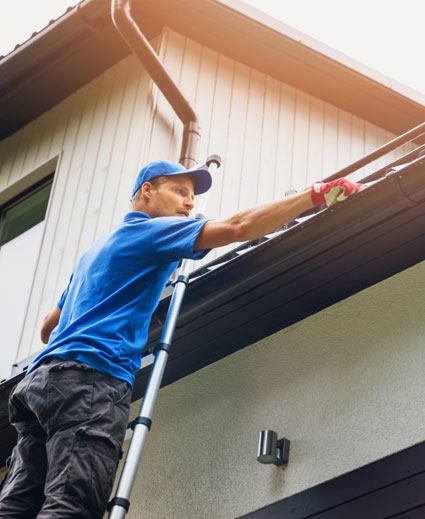 gutter evestrough cleaning service london ontario