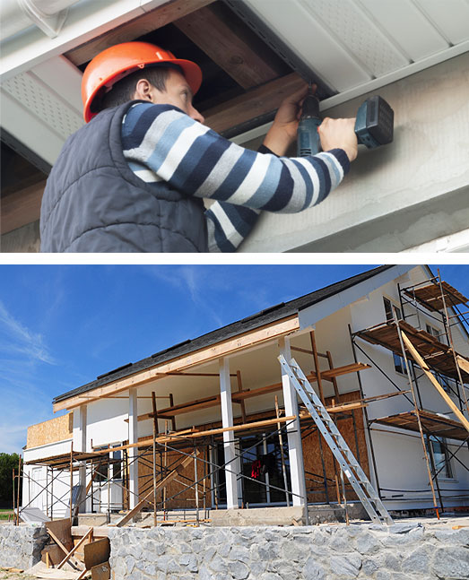 soffit fascia installation repair contractor london ontario