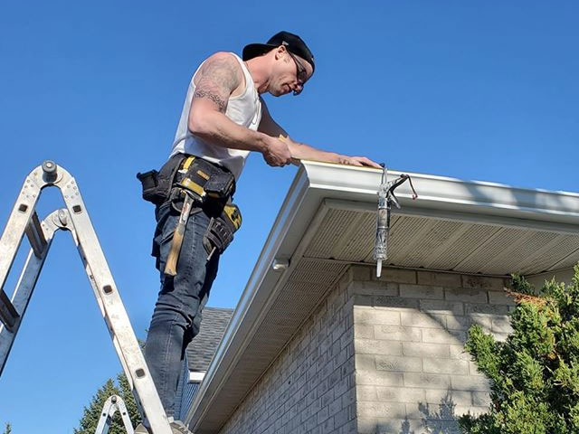 eavestrough replacement london ontario