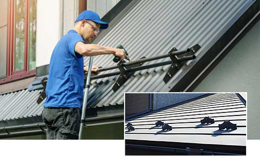 metal roofing snow guards london ontario installation contractor